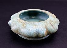 Chinese Porcelain RuYao Brush Pot