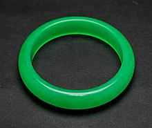 Old Chinese Jadite Bracelet
