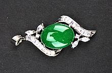 Chinese Green Jadite Pendant