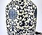 Large Chinese Blue & White Vase/Lamp