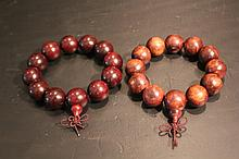 Chinese Old Wooden Bracelet