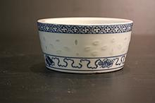Chinese Qing Porcelain Blue&White; Jar