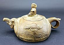 Old Chinese ZiSha TeaPot