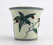Chinese Ming DouCai Cup