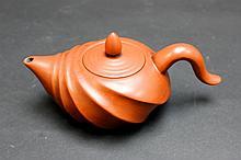 Old Chinese Zi Sha Tea Pot