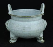 Chinese Song Porcelain DingYao Incense Burner