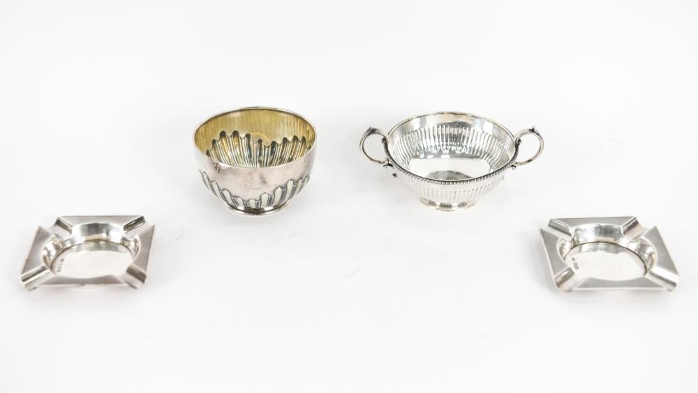 (4) STERLING SILVER GROUPING