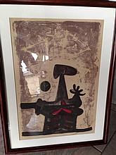 RUFINO TAMAYO (MEXICAN, 1899?1991) LITHOGRAPH