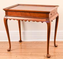 ELDRED WHEELER CHERRY TEA TABLE
