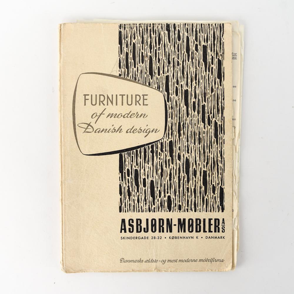 ASBJORN-MOBLER A/S VINTAGE FURNITURE CATALOG
