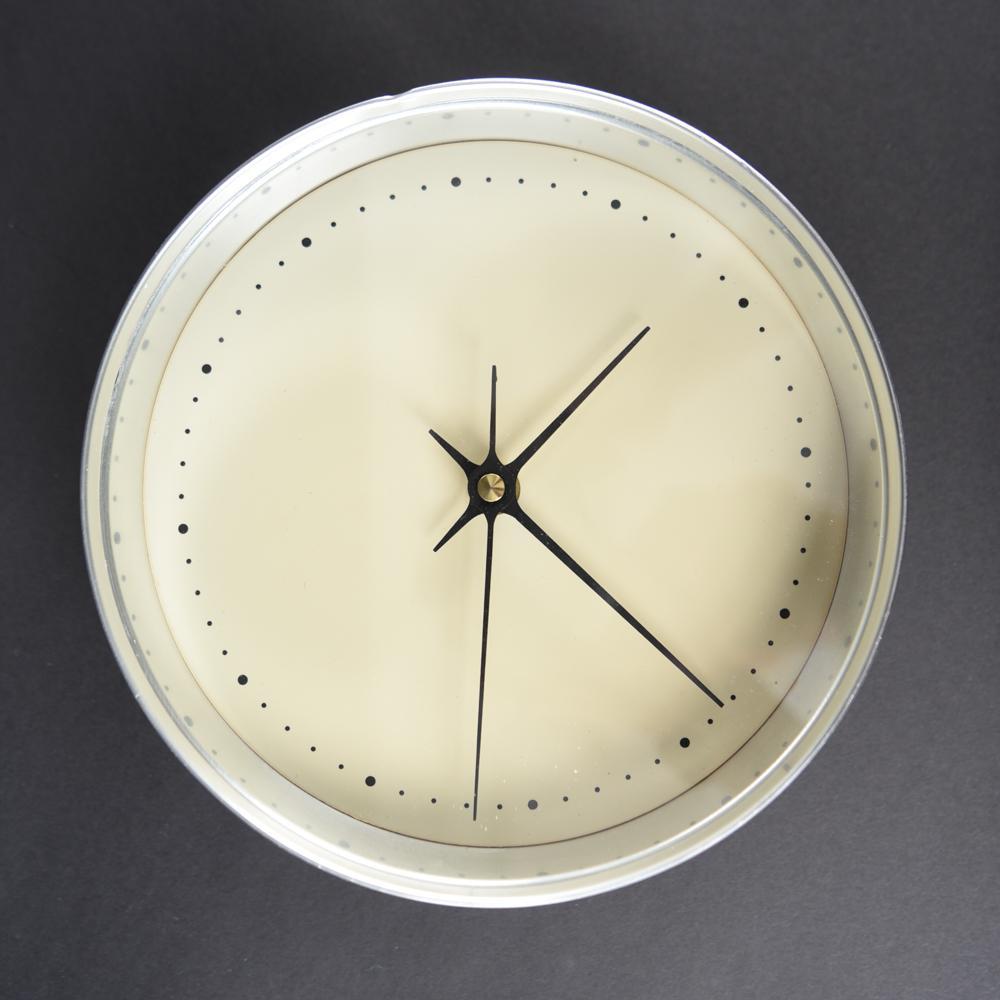 GEORG JENSEN DANISH MID-CENTURY CLOCK