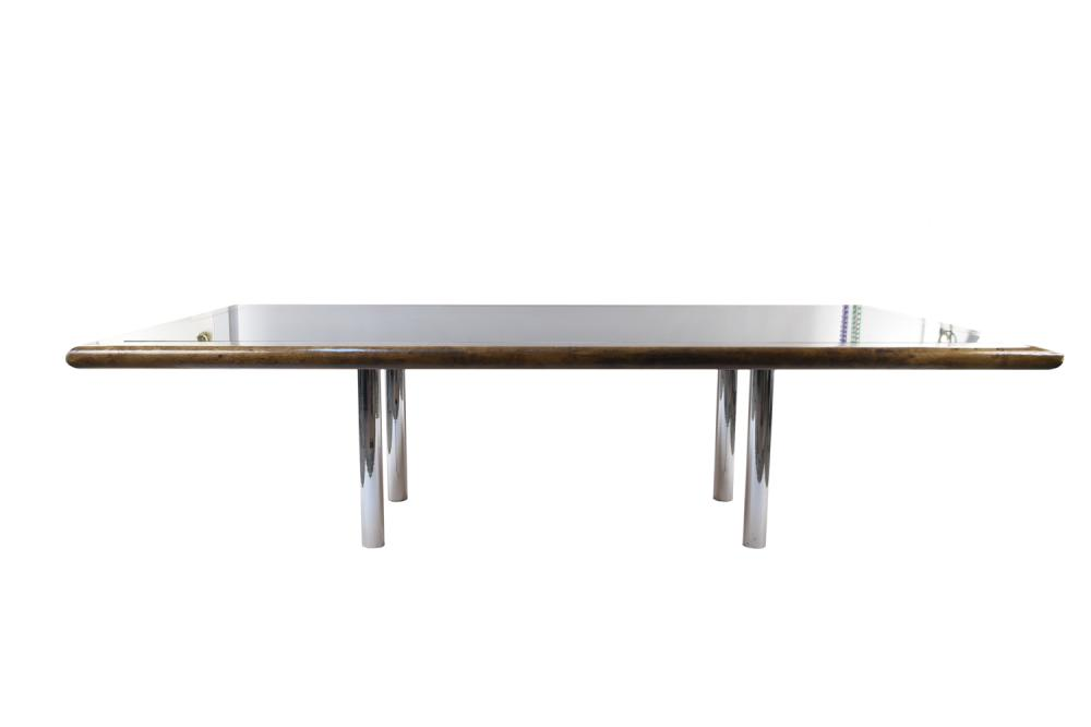 AFRA & TOBIA SCARPA FOR KNOLL CUSTOM DINING TABLE