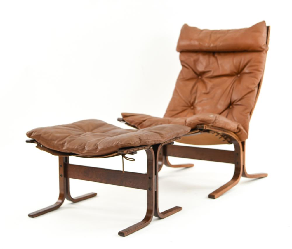 INGMAR RELLING SIESTA CHAIR WITH FOOTREST