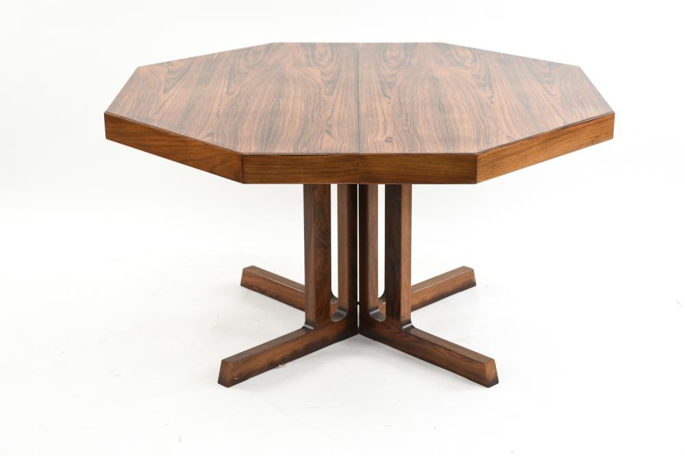 ROSEWOOD JOHANNES ANDERSEN HANS BECH DINING TABLE