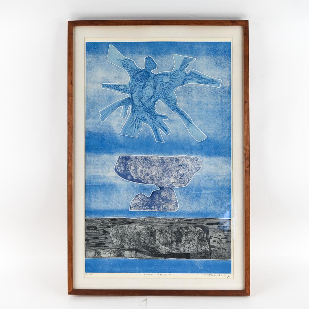 "GABOR PETERDI (1915-2001) ""ARCTIC BIRD I"""