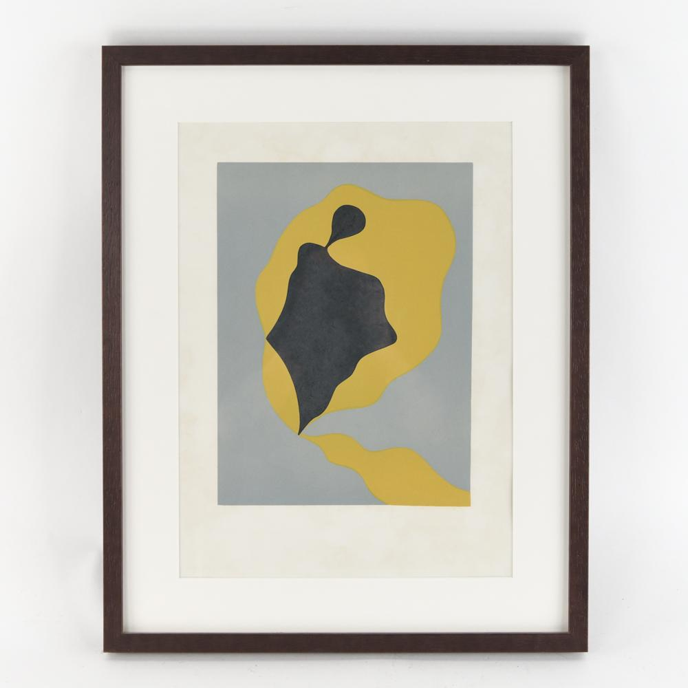 JEAN ARP (GERMAN/FRENCH 1886-1966) WOODBLOCK