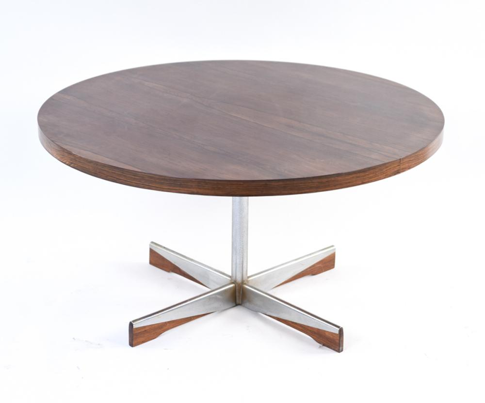 MID-CENTURY WESTNOFA ROSEWOOD OCCASIONAL TABLE