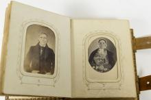 MID-19TH C. BALDWIN FAMILY PHOTO ALBUM