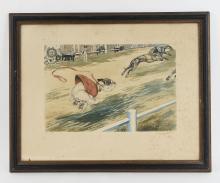 1929 FRENCH DOG PRINT