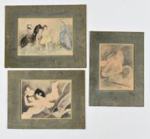 (3) MARIE LAURENCIN (FRENCH 1885-1956) PRINTS