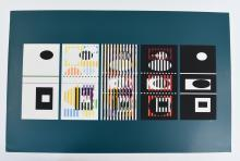 YAACOV AGAM (ISRAEL 1928-) SIGNED LIMITED EDITION