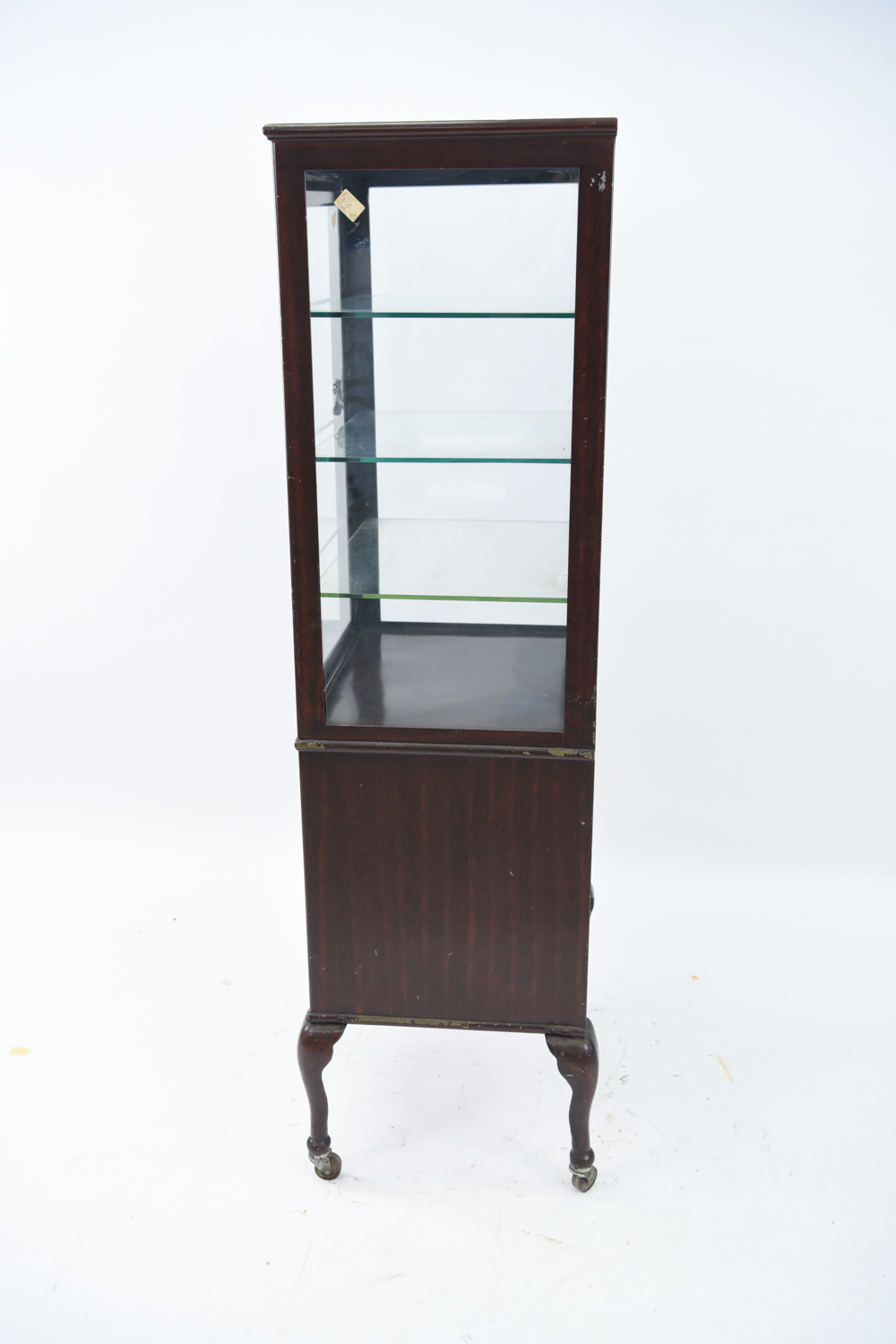 Lot 164: ANTIQUE MEDICAL CABINET WITH JAPANNED FINISH - ANTIQUE MEDICAL CABINET WITH JAPANNED FINISH