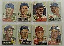 1953 Topps 8 Card Lot w. Dick Groat