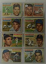 1956 Topps 22 Card Lot w. Robin Roberts