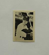 1960 Doyusha Sadaharu Oh Playing Card - RARE!