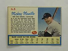 1962 Post Mickey Mantle (from Life Magazine) EX