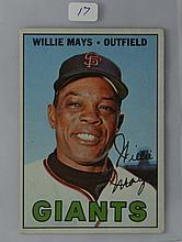 1967 Topps Willie Mays #200 VG