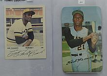 1970 Topps Super & 1971 Team Issue Clemente Cards