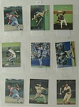 1989 Calbee Japanese Baseball Cards (18 Cards)