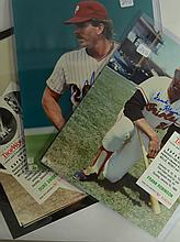 Mike Schmidt and Frank Robinson Autographed 8