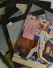 NY Mets Signed Photo/Picture Lot of 6