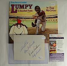 Phillies Autographed Lot - Ashburn/Espinosa/McGraw