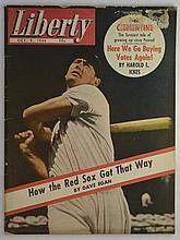 1946 Liberty Magazine (10/5/46) Ted Williams