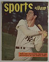 1948 Sports Album Vol 1, #1 with Joe DiMaggio