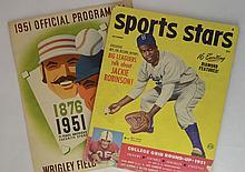 Nov 1951 Sports Stars Magazine w/ Jackie Robinson