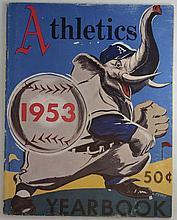 1953 Philadelphia Athletics Yearbook