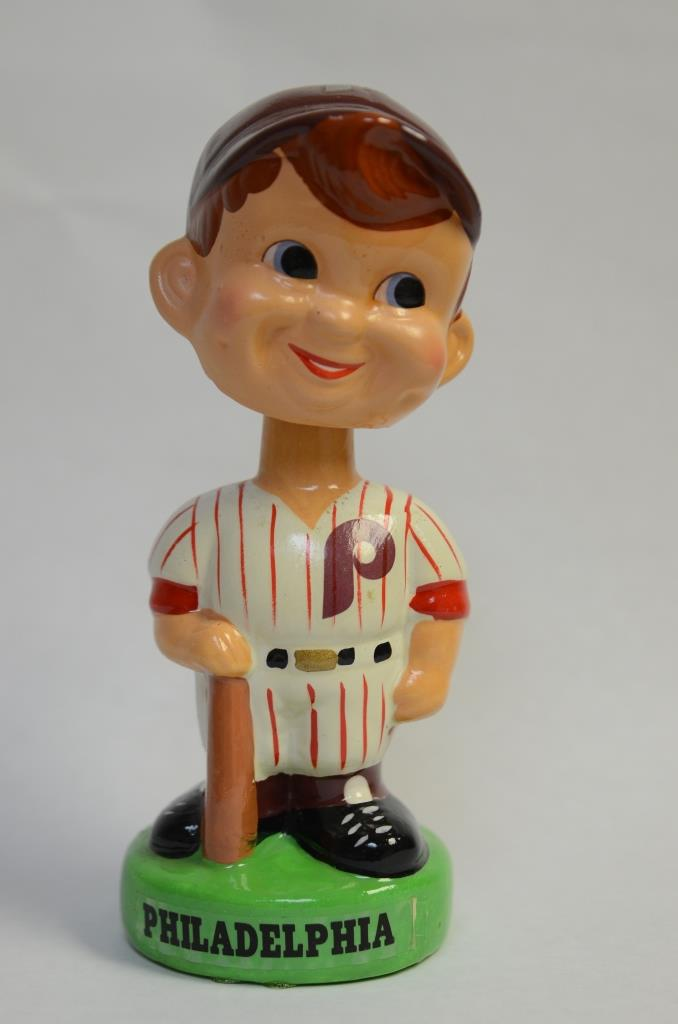 Lot 55: Vintage Phillies Bobblehead