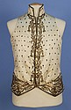GENT'S METALLIC EMBROIDERED WAISTCOAT, 18th C.