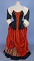 WORTH FANCY DRESS REGIONAL COSTUME, 19th C.