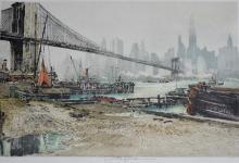 Brooklyn Bridge by Luigi Kasimir