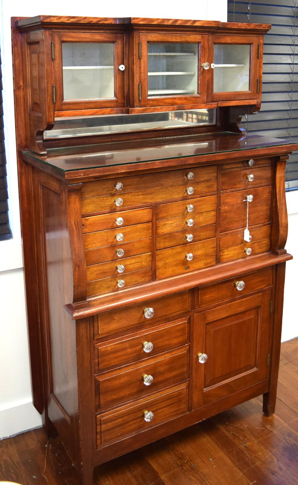 ANTIQUE DENTAL CABINET: