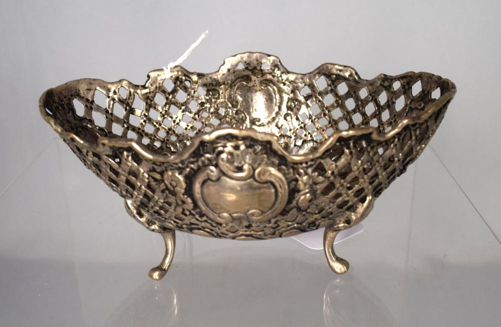 EUROPEAN SILVER BASKET: