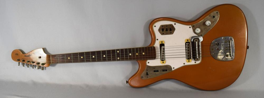 1972 ELECTRIC FENDER JAGUAR MODEL GUITAR: