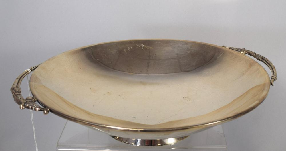 MID-CENTURY FINA STERLING SILVER CENTER BOWL: