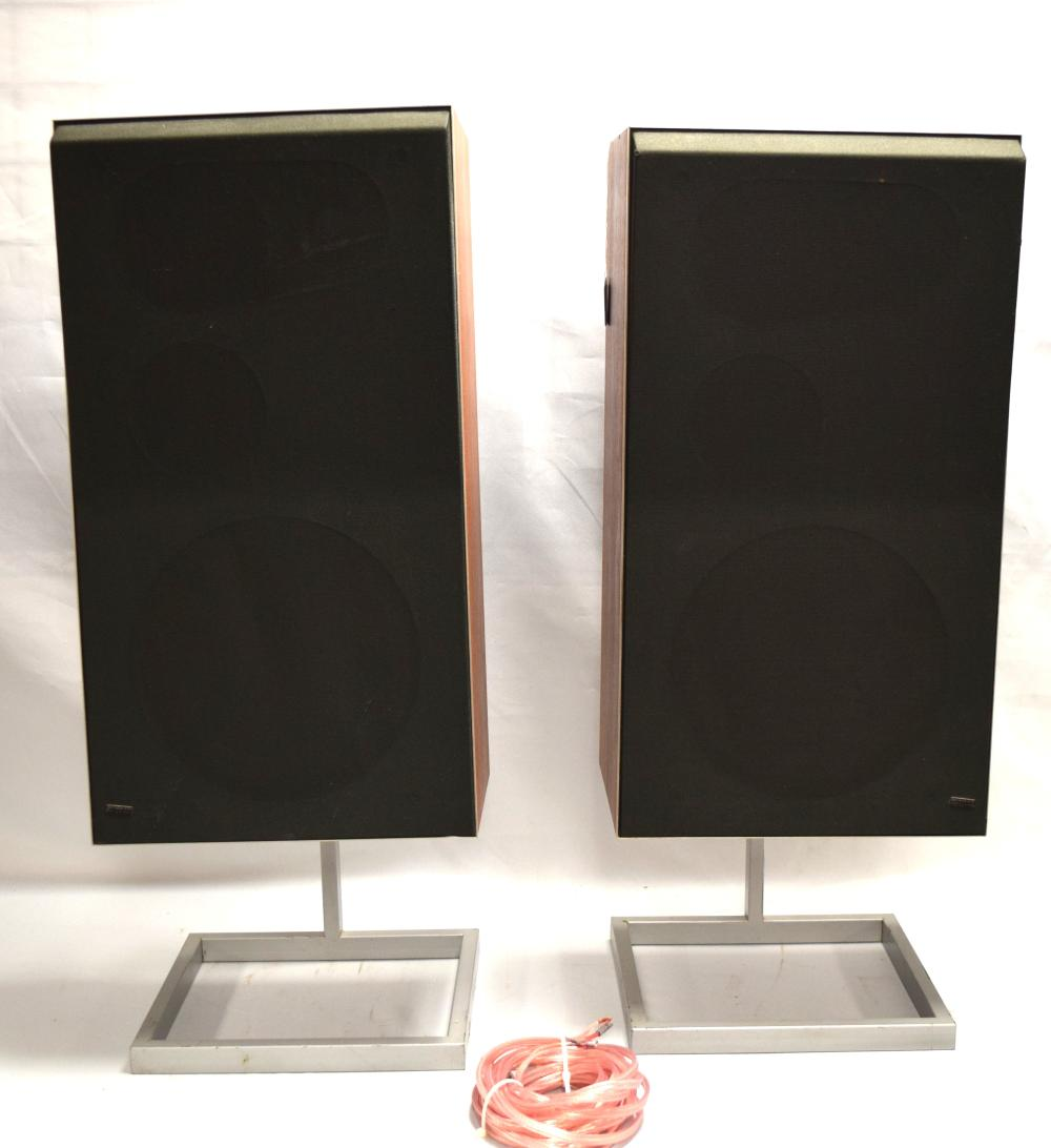 BANG & OLUFSEN MID CENTURY SPEAKERS: