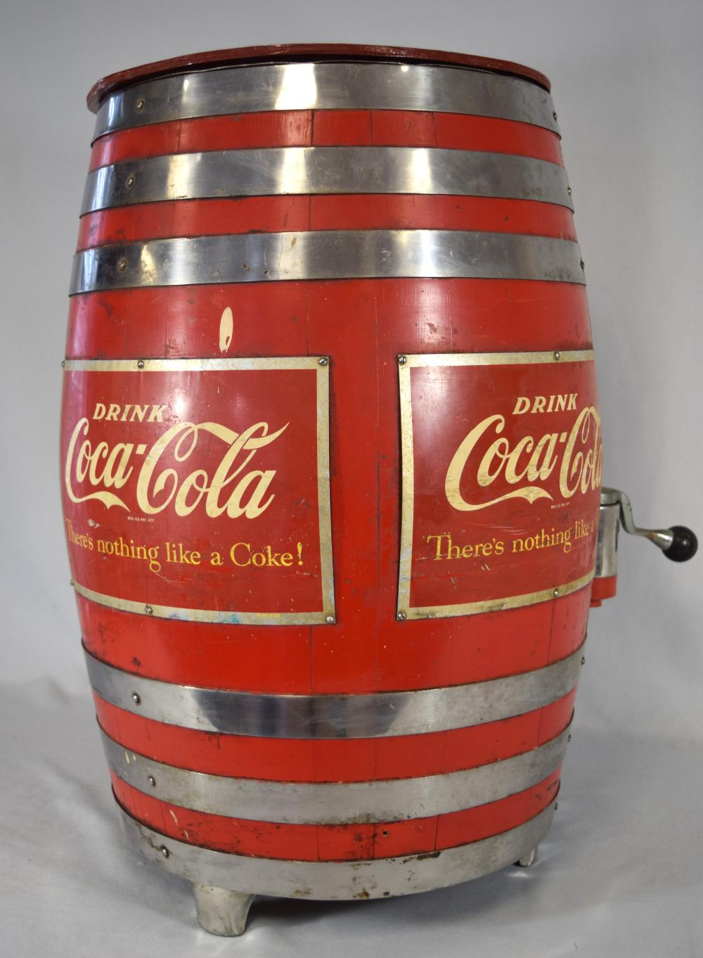 COCA-COLA & ROOT BEER SODA FOUNTAIN DISPENSER: